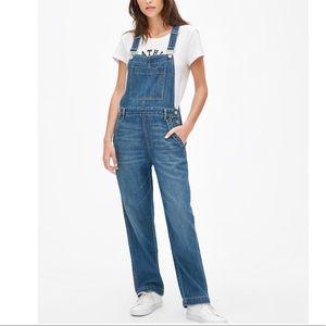GAP 100% Cotton Wide Leg Overalls